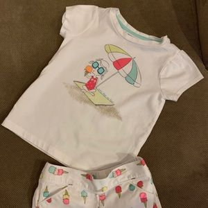 Gymboree Toddler girls outfit